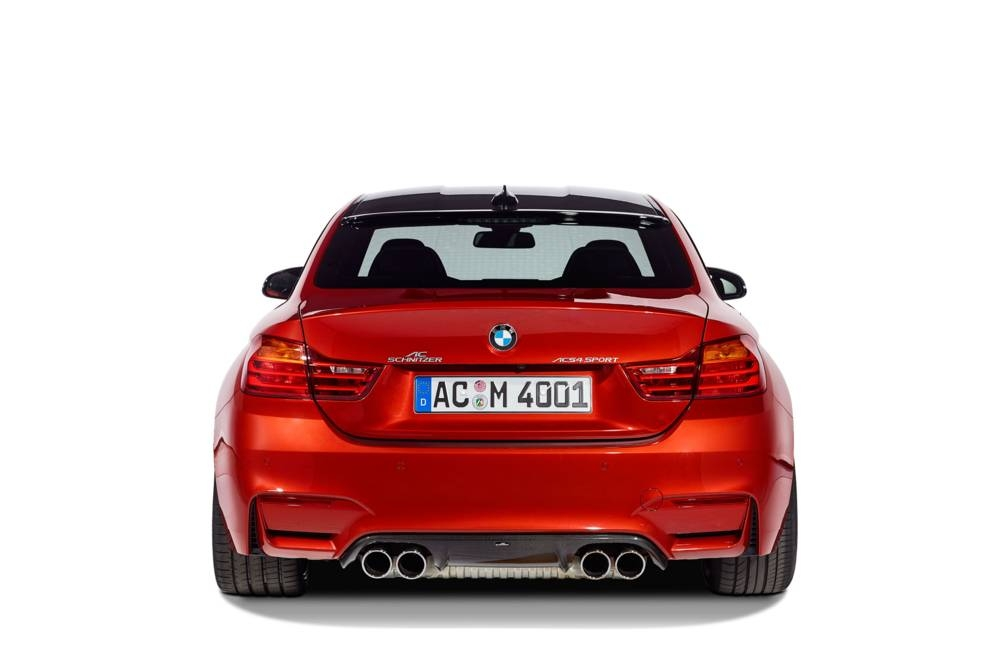 AC Schnitzer Tailpipe Chromed For BMW M3 F80