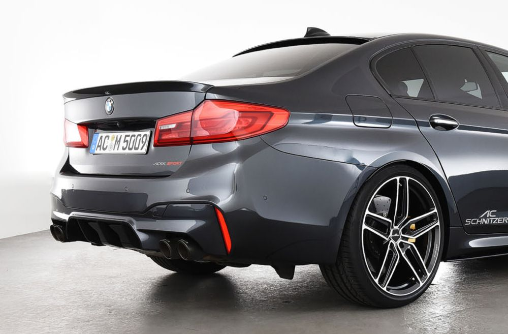 AC Schnitzer Tailpipe Set Carbon Sport For BMW M5 F90