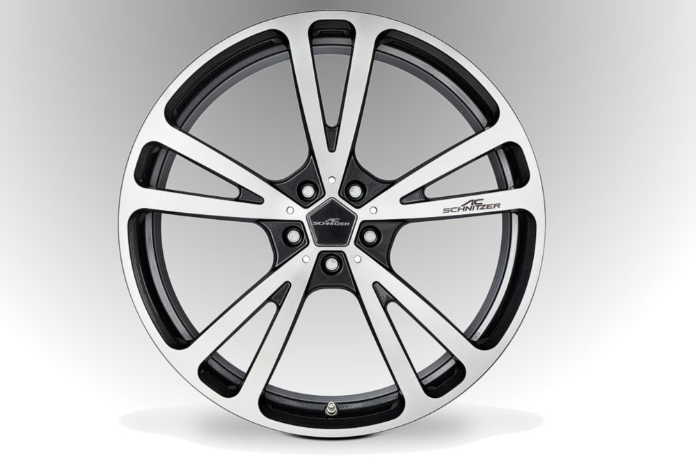 "AC Schnitzer Wheel AC3 Flowforming ""silver-anthracite"" For BMW 8 Series (G14/G15/G16)"
