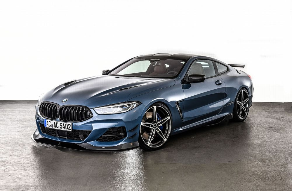 AC Schnitzer Carbon Front Side Wings For BMW 8er-series G14/G15/G16 With M-Sport