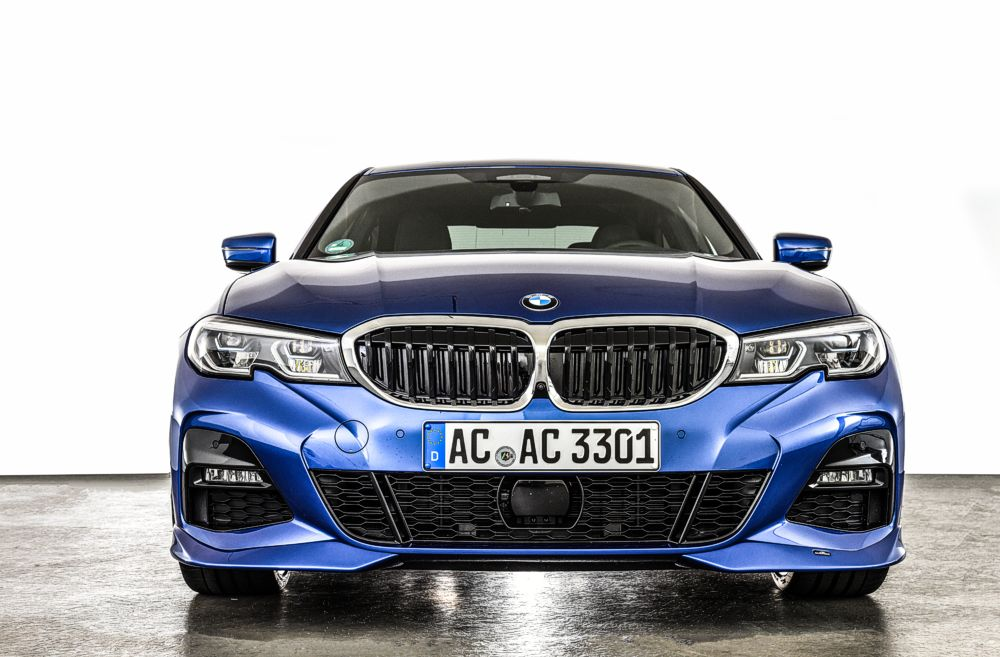 AC Schnitzer Front Spoiler Elements For BMW 3-series G20/G21 With M Aerodynamic Package