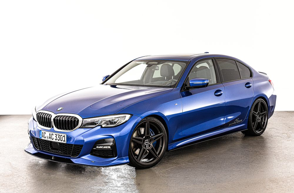 AC Schnitzer Front Splitter For BMW 3er Series G20/G21 With M Aerodynamic Package Requires AC Schnitzer Front Spoiler Elements
