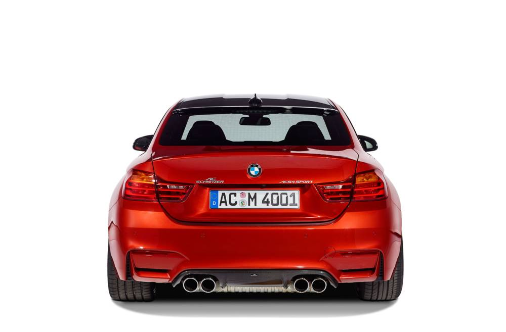 AC Schnitzer Carbon Rear Diffusor For BMW M3, M3 Competition, M3 CS (F80)