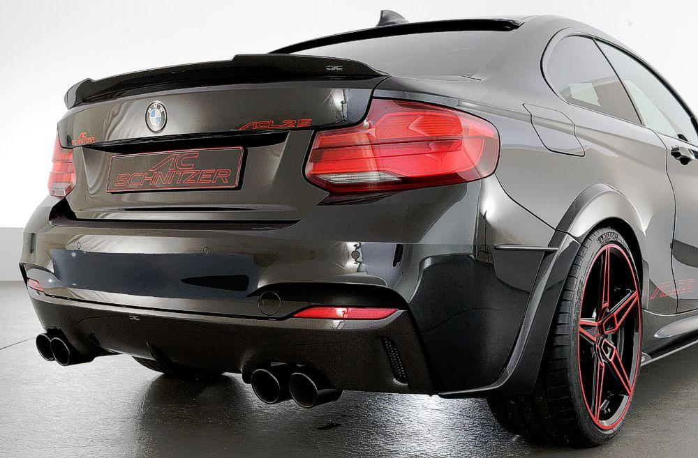 AC Schnitzer Carbon Rear Spoiler For BMW M2, M2 Competition, M2 CS (F87)