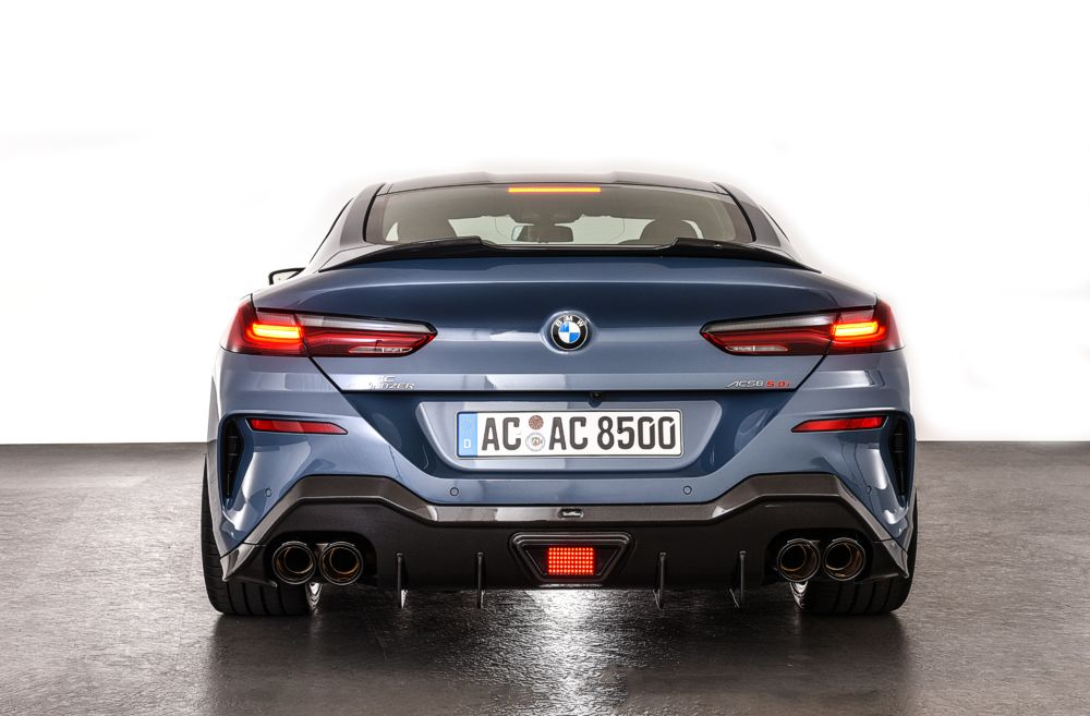 AC Schnitzer Carbon Rear Spoiler For BMW 8 Series Coupe, M8 Coupe (G15/F92)