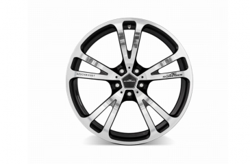 "AC Schnitzer wheel Type AC3 forged ""silver-anthracite"" for BMW 5 series (G30/G31)"