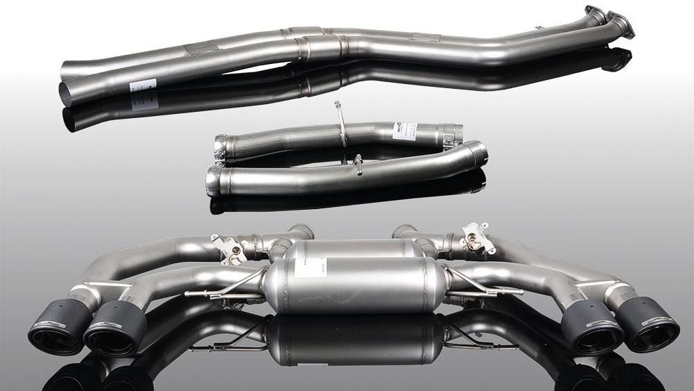 AC Schnitzer Silencer For BMW X3M, X4M (F97/F98)