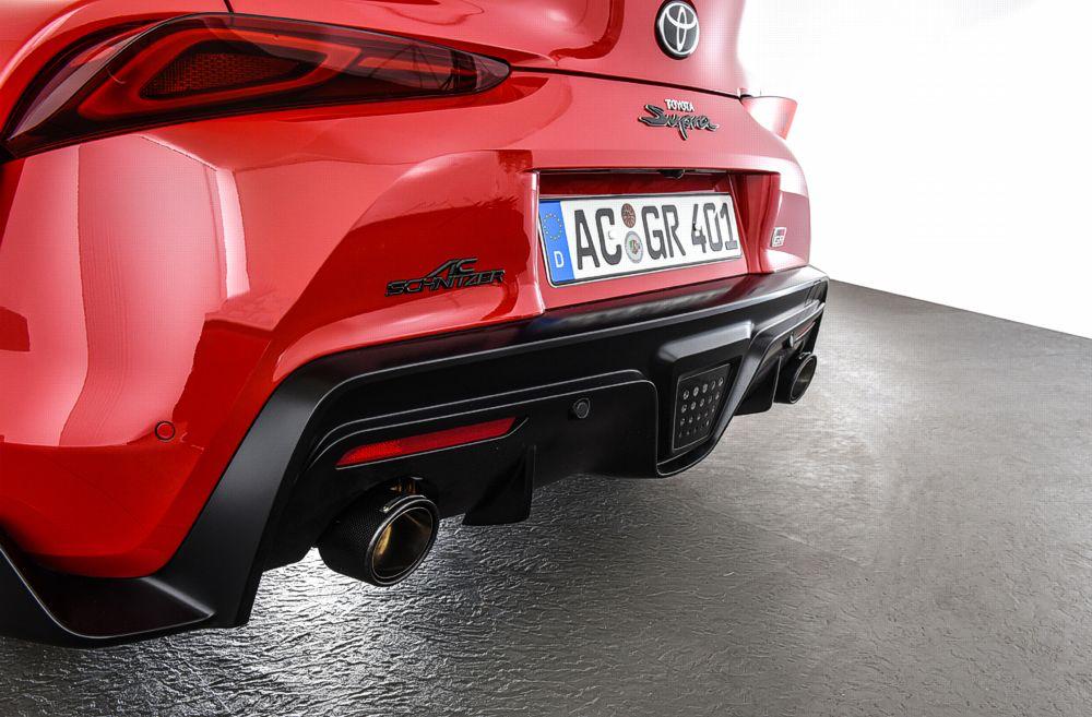AC Schnitzer Silencer For Toyota GR Supra