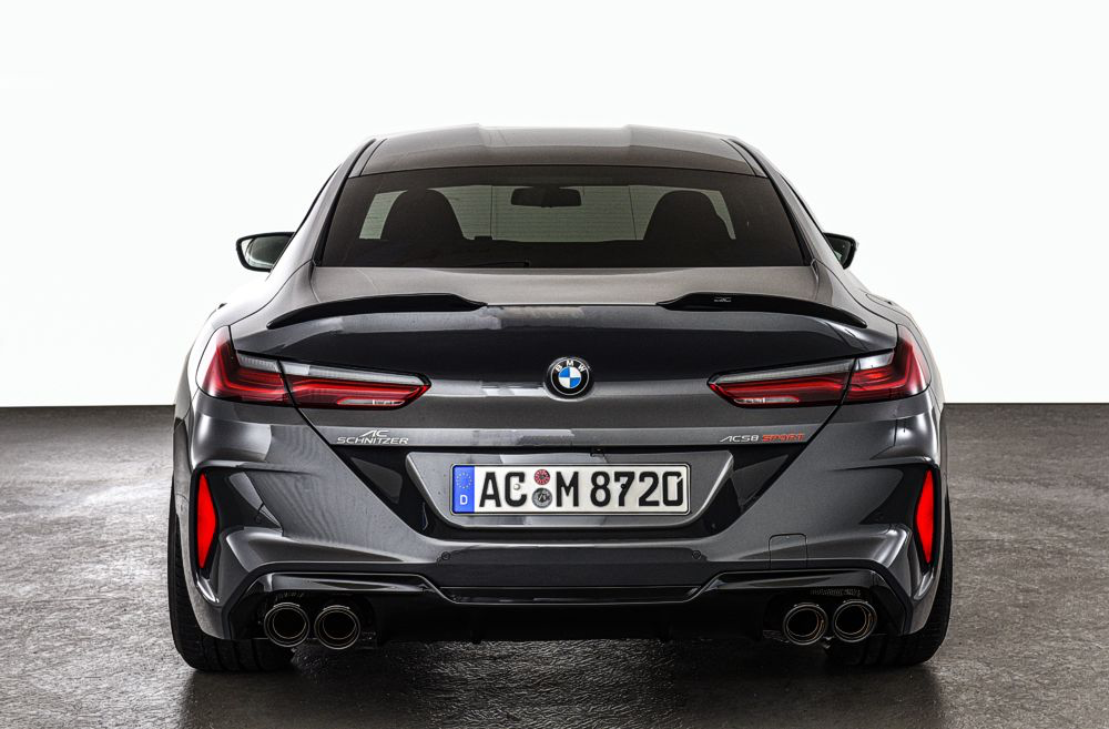 AC Schnitzer 2-piece Rear Spoiler For 8 Series Gran Coupe (G16/F93)